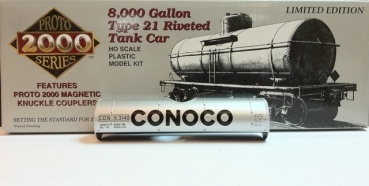 proto 21751 | 8000 Gallon Type 21 Riveted Tank Car APCO