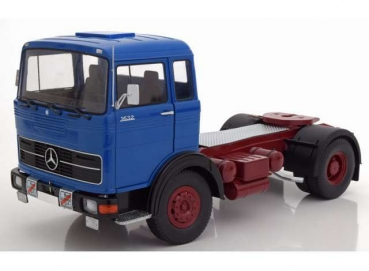 Road Kings 180022 | 1/18 1969 Mercedes LPS 1632, blau/rot