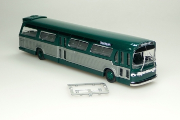 "Busch 44500 | H0 GMC TDH-5301, American Bus, ""Fishbowl"", green"