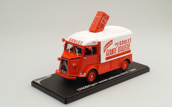Eligor 101479 | 1:43 Citroen Type H, 1965, Cafe Goulet