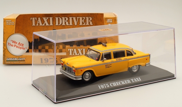 Greenlight 86532 | 1:43 Checker Cab Taxi - Movie Taxi Driver