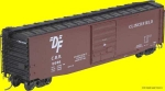 Kadee 6111 | H0 50' PS-1 Box Car with Gradual Side Sill & Scale