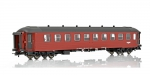 NMJ 132.301 | H0 NSB B4 25957, Red/Black Livery, Corrugated Roof
